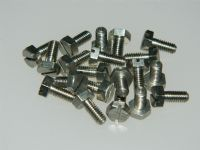 "4BA Screws Slotted Hex Head Steel Length 5/16"" Part CX112448-2 [END3G]"